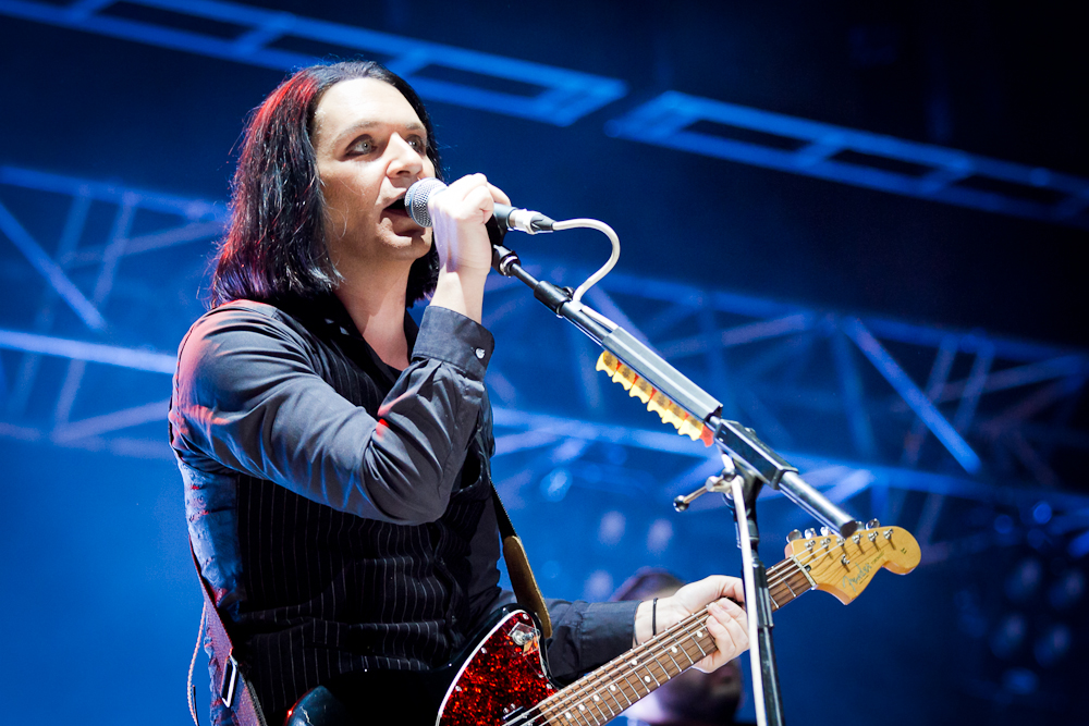 Placebo am Frequency Festival 2014