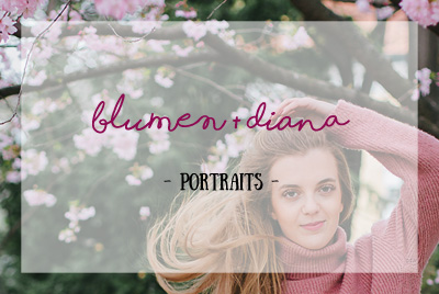 Endlich Frühling! – Portraits mit Diana