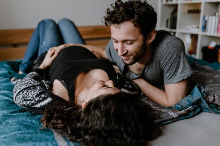Tamara und Florian bei ihrem Coupleshooting