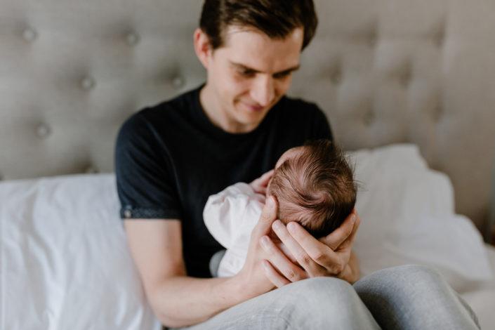 Lea mit ihrem Papa